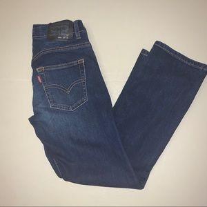 ✅ LEVIS Performance Boys SLIM 511 Jeans 10 Regular